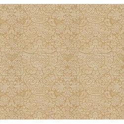 Sabine Damask in Sauterne - The decorative fabric Sabine Damask in Sauterne