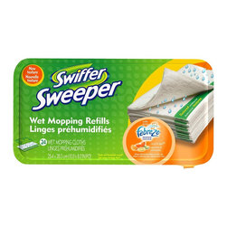 Swiffer - Swiffer Sweeper Wet Mop Refills, Citrus and Light Scent, 24 Count (6-Pack) - Swiffer 37624 Sweeper Wet Mop Refills, Citrus and Light Scent, 24 Count (6 Pack)