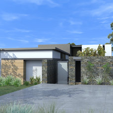 Modern Rendering by modern house architects