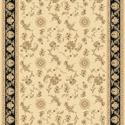 "Dynamic Rugs - Dynamic Rugs Rug, Ivory, 9' 2"" x12' 10"" - The Legacy Collection by Dynamic Rugs features persian styled rugs with 800,000 points with traditional colors."