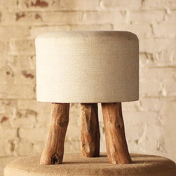 Three-Legged Race Stool - This cool stool might only have three legs, but it's plenty stable. Sit down on it, toss magazines on top, or use as a place to rest your weary feet.