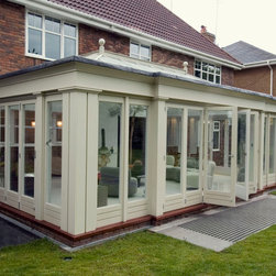 Orangery with Folding Sliding Doors - Photo by James Licata