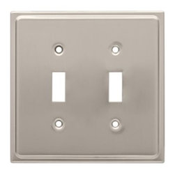 Liberty Hardware - Liberty Hardware 126365 Country Fair WP Collection 4.96 Inch Switch Plate - Sati - A simple change can make a huge impact on the look and feel of any room. Change out your old wall plates and give any room a brand new feel. Experience the look of a quality Liberty Hardware wall plate.. Width - 4.96 Inch,Height - 4.9 Inch,Projection - 0.2 Inch,Finish - Satin Nickel,Weight - 0.29 Lbs