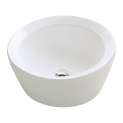 PolarisSinks - Polaris P091VB Bisque Porcelain Vessel Sink - Our extensive line of porcelain sinks will compliment any decor from the traditional to the unique. Our porcelain sinks are true vitreous China with a triple laid glaze to create the strongest sink you will find. Our porcelain sinks are extremely low maintenance. Our porcelain sinks are covered by a limited lifetime warranty. Each comes with a cardboard cutout template and mounting hardware.