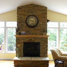 Traditional Fireplaces by Waldmann Construction