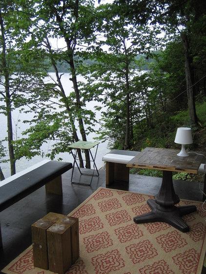 Rustic Porch by Mark Dodge Design