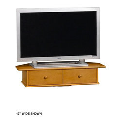 Home Decorators Collection - Drayton TV Turntable with Drawer - The Drayton TV Turntable with Drawer adds mobility and convenience to any TV stand. Position your TV at the perfect viewing angle easily with this sleek, streamlined option. It will blend easily with any home theater furniture arrangement and features a drawer for added storage. Buy one for your home today.Durably crafted of wood for lasting reliability.Your choice of smooth finish completes the look.