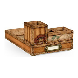 Jonathan Charles - New Jonathan Charles Tray Travel Trunk - Product Details