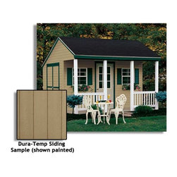 Fifthroom - Cabana Shed with Dura-Temp Siding -