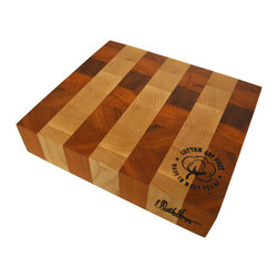 Cotton and Dust Products of West Texas - The Garrett Cutting Board - Inspired by Robert Garrett, Pitmaster for FullhouseBBQ in Georgetown, Texas, the Garrett is the perfect size to portion out freshly smoked brisket.