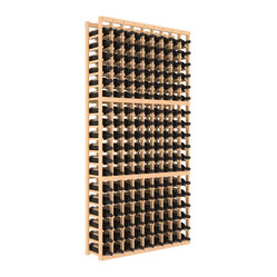 "Wine Racks America - 9 Column Standard Wine Cellar Kit in Pine, (Unstained) - Surely Robert Louis Stevenson had this wooden cellar in mind when he wrote, ""Wine is bottled poetry."" The easy-to-assemble kit, in your choice of colors and finishes, features softened edges to be gentle on bottles and ensure no nicks or splinters on your fingers."
