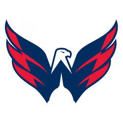 Trademarx Wall Decor - NHL Washington Capitals Hockey Logo Wallmarx Accent Decal - 3 quality licensed decals. These are quality wall accent stickers made in N. America, not cheap imported ones! Guaranteed to stick or money back! Use these large pre-cut wall appliques to create that unique accent for your room or car in minutes! They are instantly removable and reusable with no damage or residue to the wall! Sticks equally well onto your car, truck or furniture!