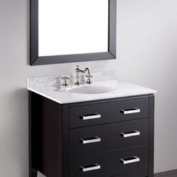 SB-260 Single Vanity Set with Mirror