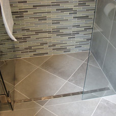 Contemporary Bathroom by Robin Amorello, CKD CAPS - Atmoscaper Design