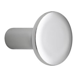 "KOHLER - KOHLER K-14484-CP Purist/Stillness Cabinet Knob in Chrome - KOHLER K-14484-CP Purist/Stillness Cabinet Knob in ChromePurist accessories combine simple, architectural forms with sensual design lines and careful detailing. Matching cabinet hardware coordinates perfectly with Purist faucets and accessories, promising visual appeal down to the smallest detail.KOHLER K-14484-CP Purist/Stillness Cabinet Knob in Chrome, Features:• 1-1/16""L x 1-1/4""W"