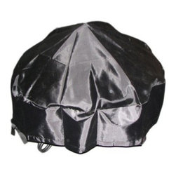 Round Firepit Cover - Protect your fire pit from Mother Nature's harsher tendencies with the Round Firepit Cover. Constructed of UV-protective fabric, this cover features an elastic bottom for a snug fit, ensuring it won't come loose from your chimney even in the worst conditions.