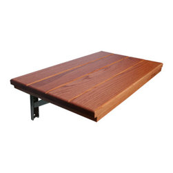 """Teakworks4u - Oak Entryway Bench 24"""" x 14"""" [Kitchen] - This bench is not intended for the shower, but a perfect fit for a mudroom or entryway. The bench comes fully sanded and is ready to be painted, stained, or left untouched. All so you can make it match your style!"""