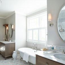 Beach Style Bathroom by Hendel Homes