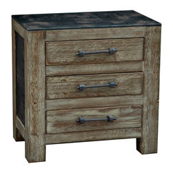 Crestview Collection - Crestview Collection CVFZR229 Industria Chest - Crestview Collection CVFZR229 Industria Chest