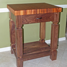 Traditional Kitchen Islands And Kitchen Carts by Carolina Wood Designs