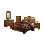 SEAWINDS TRADING - West Indies Tropical Rattan and Wicker 5 Piece Bedroom Furniture Set - The West Indies is a high end wicker group that will turn your bedroom into a tropical paradise. Its all quality with steel glide drawers and heavy wicker weave. It is available in the Toffee stain. The pricing is excellent for such nice wicker bedroom furniture. These 5 items are included: