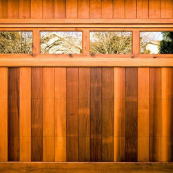 Mesa Street-Architectural Clear Heart Redwood -