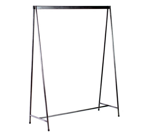 Bedford Garment Rack - At your next party, don't crush your guests' coats in a closet or stack them on a bed. Hang them neatly on this sturdy garment rack in your entryway or hallway. After the party, use it to store infrequently used garments until you need them.