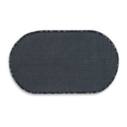 Schroeder & Tremayne, Inc - The Original Black Pet Bowl Mats - These Original Pet Bowl Mats are super-absorbent to help protect floors from splashes and spills. Made of durable microfiber material that holds up to 4 times its weight in water. Anti-skid backing keeps mats in place.