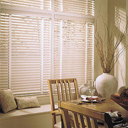 Levolor - Levolor Riviera One - Aluminum - Mini Blinds - The Riviera is the ultimate range of aluminum blinds, including the 1/2-inch sleek micro size, the 1-inch standard and the popular 2-inch Classic size.