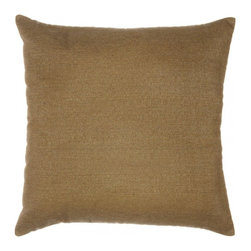 "Sunbrella® 18""x18"" Square Throw Pillow - Spectrum Eggshell, Linen Sesame - Making the best relaxation that much better! Soft. Plush. Vibrant. Attractive. Durable. Colorfast. These pillows promise lasting outdoor comfort you won't want to take your eyes or head off of! The stylish 18""x18"" Sunbrella® Square Throw Pillow is sure to liven up any backyard and to provide instant comfort for relaxation. Perfect for hammocks, benches, chairs, sofas, futons, chaise lounges, and more."