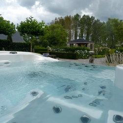 Infinity Vanishing Edge Hot Tub -