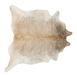 #N/A - Cow Hide Rug in Light Brindle Medium - Cow Hide Rug in Light Brindle Medium. Hair on Hide Rug Natural Form
