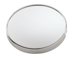 Gedy - Wall Mounted 3x Magnifying Mirror with Suction Cups - If you want a makeup mirror, why not consider this trendy optical mirror from the Gedy Mirrors collection? Perfect for more modern & contemporary settings, this decorative makeup mirror is wall-mount and finished in chrome. Made with the highest quality m