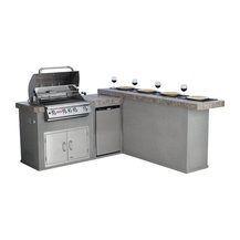 Bull Outdoor Products Bull Mesquite Q Grill Island