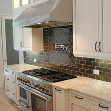 Transitional Kitchen Countertops by Woodsman Kitchens and Floors