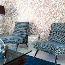 Modern Living Room by Boudreaux Design Studio