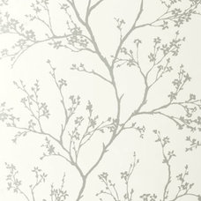 Transitional Wallpaper by Covered In Style Inc