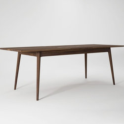 Ion Design Vintage Extendable Dining Table - Ion Design's Vintage Extendable Dining Table is a Mid-Century beauty.  It's solid wood construction allows for clean, gorgeous lines that you wont find on a less quality table.
