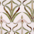 Orchids Stone Design - Studio V153 - Water Jet Collection