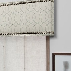 contemporary window treatments by The Shade Store