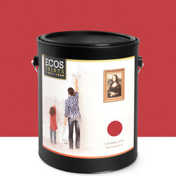 Imperial Paints - Eggshell Wall Paint, Gallon Can, Exotic Flame - Overview: