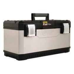 "STANLEY - Metal Plastic Tool Box 23"" - Features:"