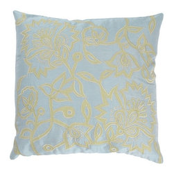 Rizzy Home - Spa and Green Decorative Accent Pillows (Set of 2) - T02356 - Set of 2 Pillows.