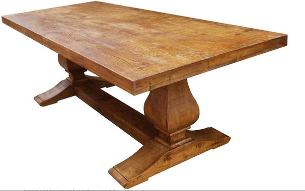 Mediterranean Dining Tables by Mortise & Tenon Custom Furniture Store