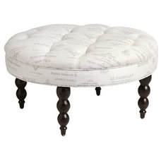 traditional ottomans and cubes by Pier 1 Imports