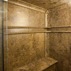 Contemporary Showers by Stone Passion Northeast