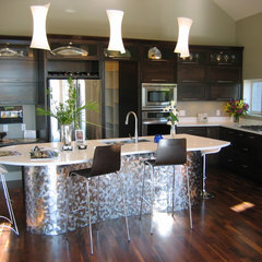 contemporary kitchen by Jarrod Smart Construction