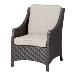Threshold Belvedere Wicker Patio Kids Chair - This mini chair won't distract from your own adult patio set. It will blend right in, and the kids will love looking just like you while sitting in their own seats.