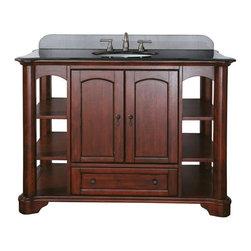 "Avanity - Avanity Vermont 48 Vanity Cabinet, Mahogany (VERMONT-V48-MA) - Avanity VERMONT-V48-MA Vermont 48"" Vanity Cabinet, Mahogany"