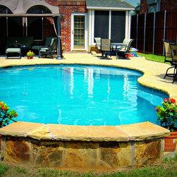Freeform Custom Pools Dallas Fort Worth -